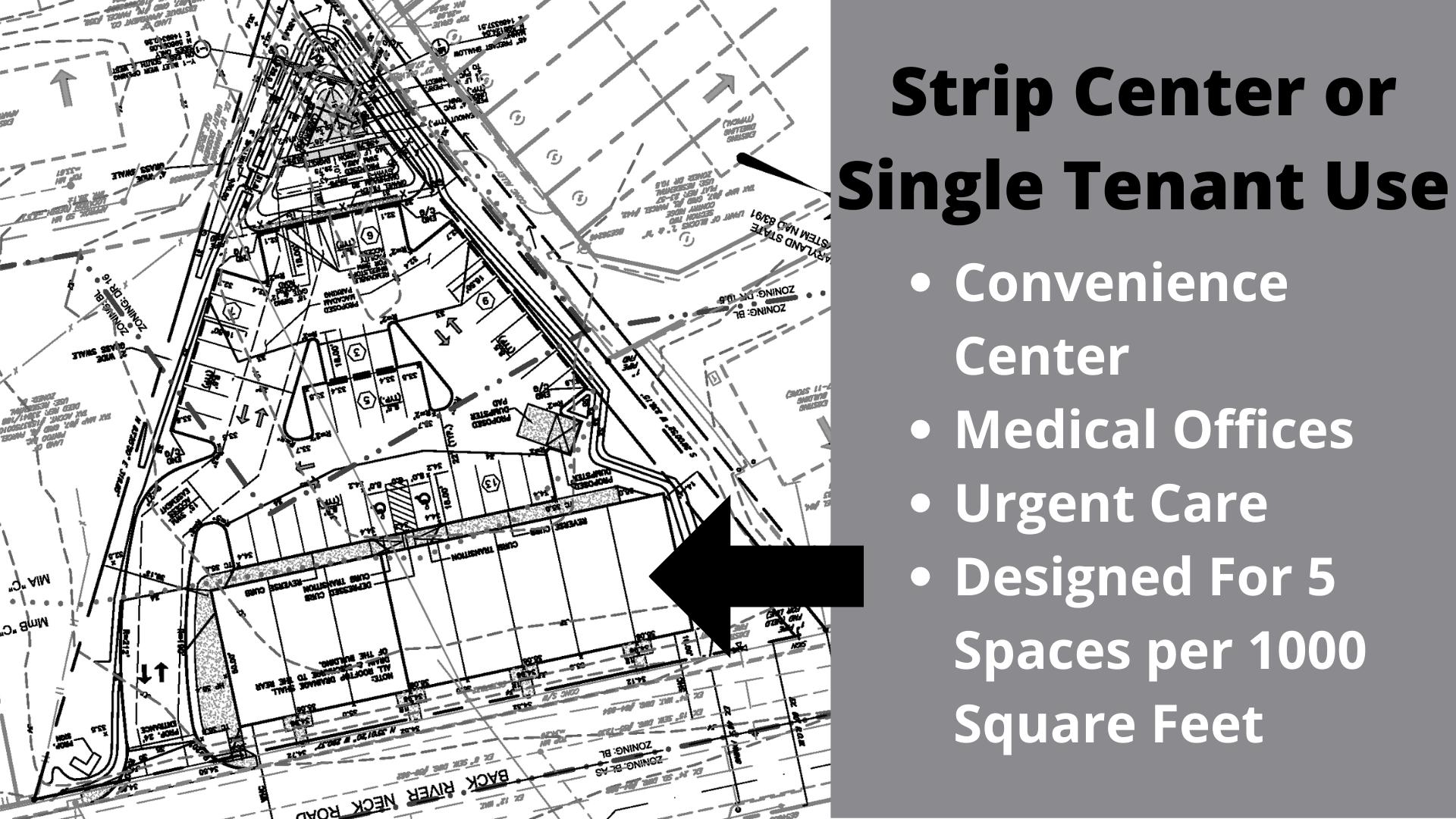 Strip Center Use
